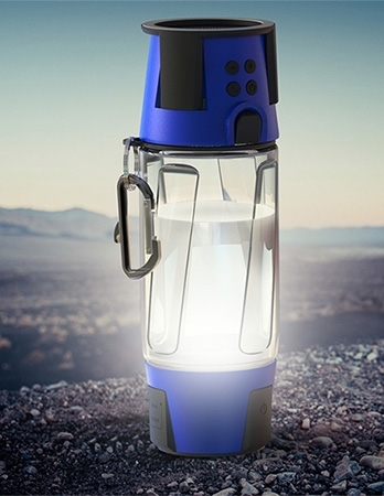 hydra bottle light